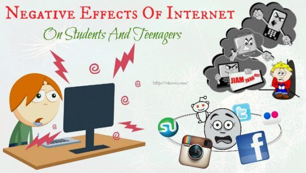 negative effects of internet on students Majorities of ap and nwp teachers in the study see digital tools having several distinct, beneficial impacts on student writing, including providing a broader.